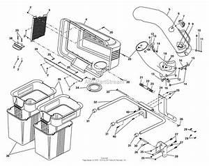 Ayp  Electrolux C42c  954040509  1994  Parts Diagram For Grass Catcher