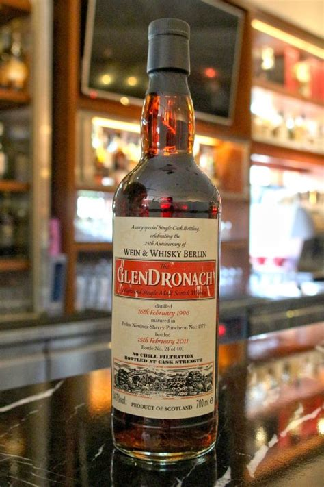 glendronach  px sherry puncheon  px