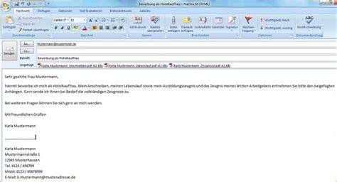 job bewerbung email muster tonight  die