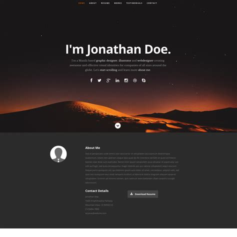 Website Template Free Ceevee Free Responsive Website Template