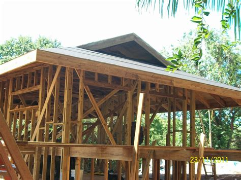dutch hip roof framing details completed architecture