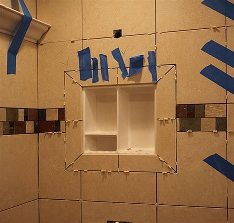 Bathroom Shelves Recessed