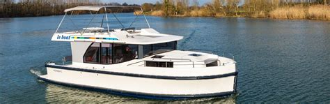 Le Boat by Horizon 5 Berth Canal Boat Rental In Europe Afloat