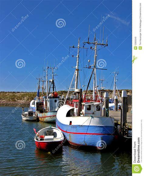 Boat Harbour Denmark Fishing by Danish Fishing Boat Stock Photo Image 12900040