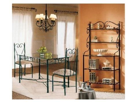 muebles de forja de diseno  tradicional