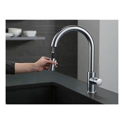 9159 ar dst single handle pull down kitchen faucet
