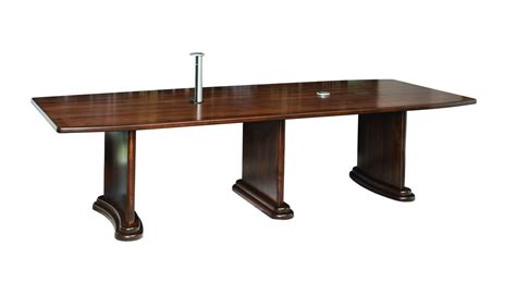amish executive conference table w charging port surrey