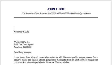 include   address   cover letter quora