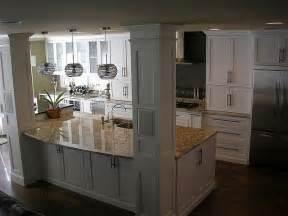 kitchen islands with posts best 10 open galley kitchen ideas on