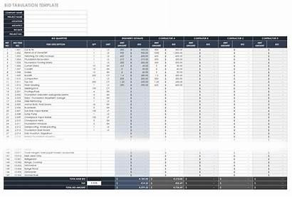 Construction Template Excel Sheet Templates Estimating Bid