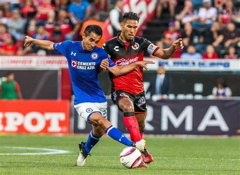 Tijuana vs Cruz Azul, Octavos Copa MX A2018 ¡En vivo por ...