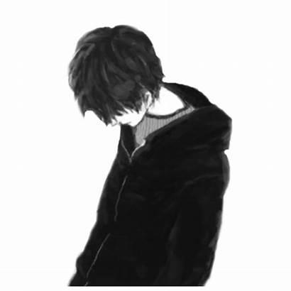 Sad Alone Anime Boy Drawings