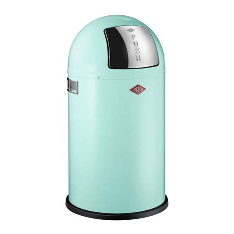 Push Can Mülleimer by Buy Wesco Pushboy Bin 50l Mint Amara