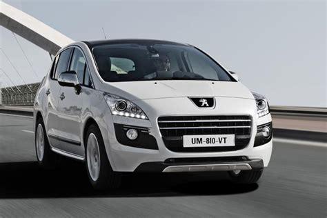 Diesel Hybrid by Peugeot 3008 Hybrid4 World S Production Diesel Hybrid