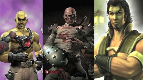 Top 10 Worst Mortal Kombat Characters Youtube