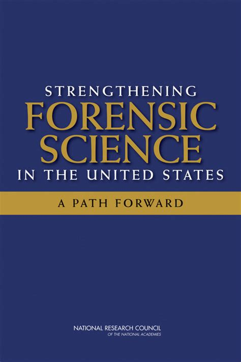 strengthening forensic science   united states