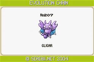 Pokemon Gligar Evolution Images | Pokemon Images