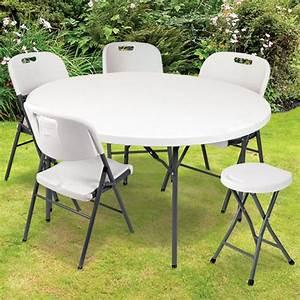 Table Pliante D Appoint : table ronde pliante d 39 appoint portable cm chapiteaux ~ Melissatoandfro.com Idées de Décoration
