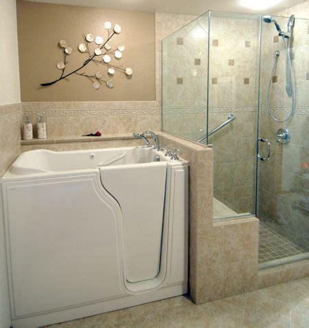 walk  tubs bathtub ideas  pinterest showers