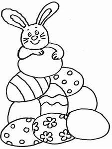 Osterhasen Bilder Zum Ausschneiden : kostenlose malvorlage ostern osterhase mit vielen ostereiern zum ausmalen ~ Buech-reservation.com Haus und Dekorationen