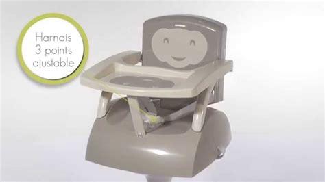 rehausseur bebe chaise rehausseur de chaise nomade 28 images r 233 hausseur