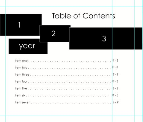 mysql show table contents table of contents for blurb