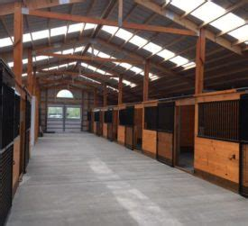 monitor style horse barn walters buildings