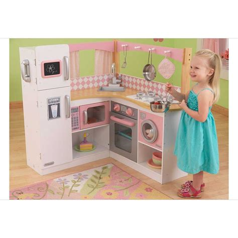cuisine en bois enfants cuisine pour enfant en bois grand gourmet corner kitchen