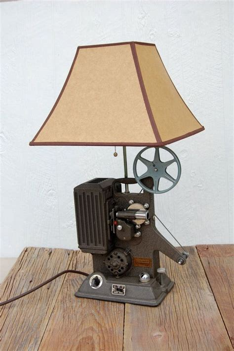 Vintage Artisan 8mm Projector Camera Lamp Repurposed By Sugarscout 275 00 Lets Build A House