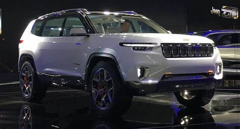 Jeep Yuntu Concept Is China 39 S Wagoneer Of Sorts