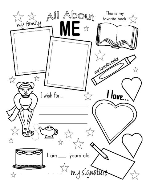 all about color all about me coloring pages to and print for free