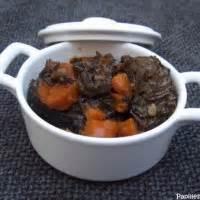comment cuisiner les joues de boeuf joue de boeuf aux carottes 1 recettes de joue de boeuf aux carottes
