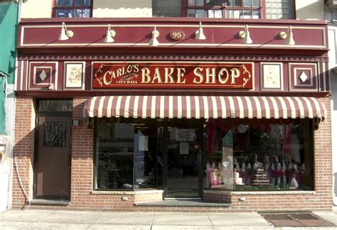 Carlo's Bakery Set For December 5th Opening Red Dining Room Damask Chairs Track Lighting Over Table Side Boards Nice Cheap Sets Coloured Paint Ideas For With Chair Rail Turn Into Bedroom