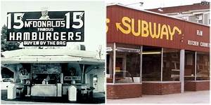 Photos show popular fast food restaurants when they first ...