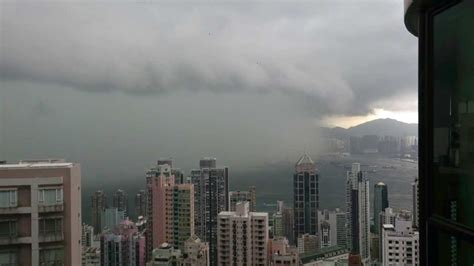 rain storm  hong kong    youtube