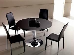 Tables Rondes Extensibles : table a manger ronde extensible ~ Teatrodelosmanantiales.com Idées de Décoration