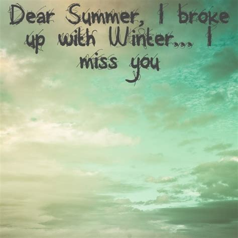 missing summer time quotes