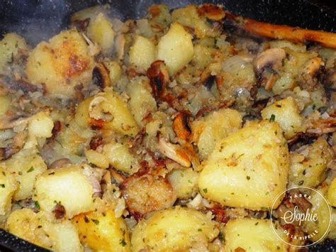cuisiner un risotto poêlée de pommes de terre aux chignons la tendresse