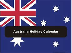 Australia 2019 2020 Holiday Calendar