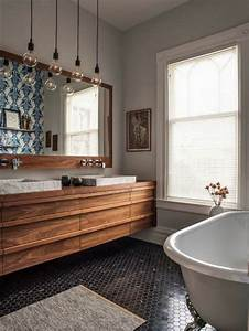 mille idees damenagement salle de bain en photos With salle de bain design avec décoration lampe à poser