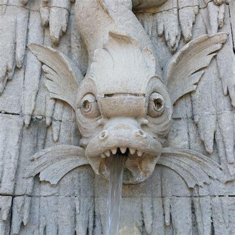 images gratuites eau aile bois statue corne poisson