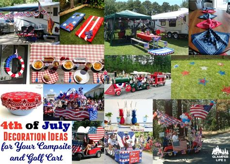 Decorating Ideas For July 4th by 4th Of July Decoration Ideas For Your Csite And Golf