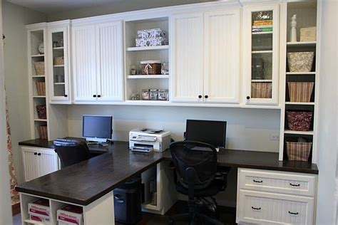 double desk home office diy dual office desk make my house a home pinterest