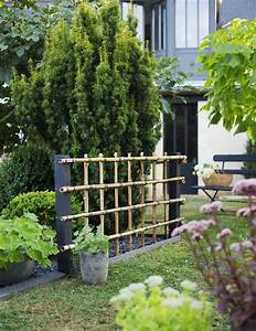 Gros Bambou Deco : fabriquer une palissade en bambou pour le jardin marie claire ~ Teatrodelosmanantiales.com Idées de Décoration