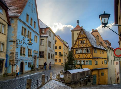 rothenburg  german town  medieval history