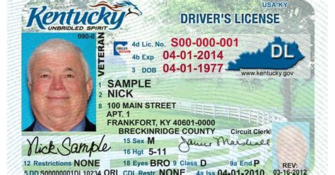 New Kentucky Driver's License And Real Id