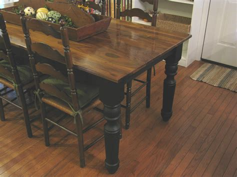 unfinished kitchen island with seating diy farmhouse dining table with oak wooden top and legs