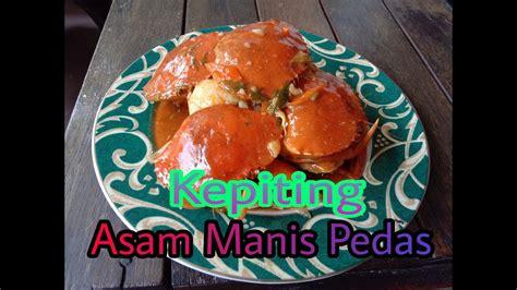 1 ekor kepiting bahan isi: Resep kepiting asam manis pedas - YouTube