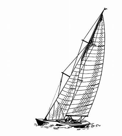 Boat Clipart Sail Illustration Sailing Publicdomainpictures