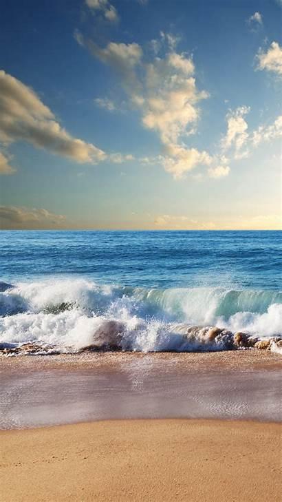 Waves Beach Tropical Iphone Screensavers Plus 1920